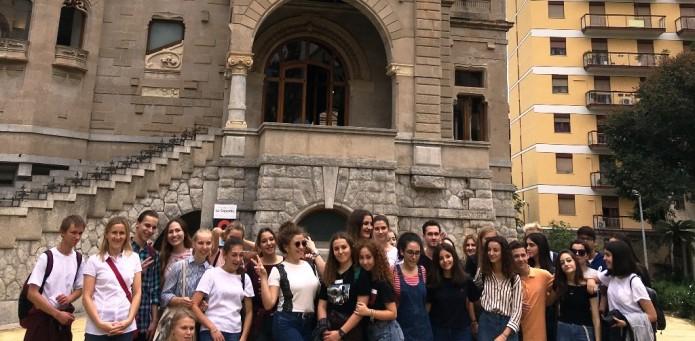 Wymiana młodzieży ze szkołą w Palermo na Sycylii, 12-19.10.2018 r.