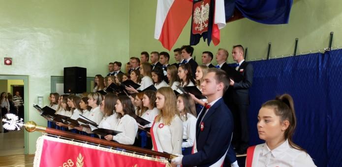 Obchody 100. rocznicy odzyskania przez Polskę niepodległości, 08.11.2018 r.
