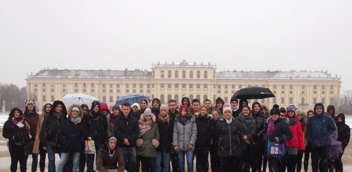 Szkolna wycieczka do Wiednia, 26-27.11.2018 r.
